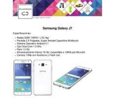 Samsung Galaxy J7 4g 5.5 Pulgadas Android 5.1 Octacore