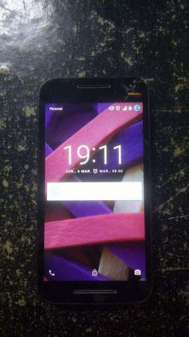 Motorola G3 Personalatencion Leer