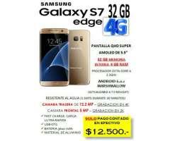 Samsung S7 Edge Libre, Nvo, Original!!!