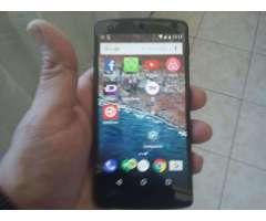 LG NEXUS 5 ANDROID 6.0.1 LIBRE DE FABRICA PANT. 5 VENDO