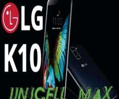 LG K10 K430T 16 GB NUEVOS LIBRES GTIA LOCAL A LA CALLE