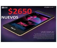 BLU G HD 4G 5.0 NUEVOS LIBERADOS ACCESORIOS DE REGALO