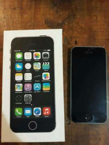 Vendo iPhone 5s de 32g Impecable