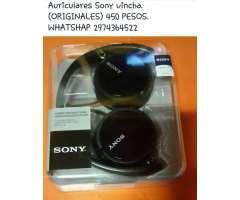 Auriculares Sony Vincha