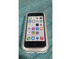 iPhone 5C Impecable Libre Blanco