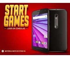 Motorola G3 Xt1540 3ra Gen. 16gb 4g Lte 13mp Libre Gtia