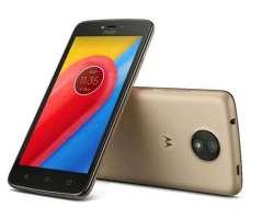Motorola Moto C Nuevo y Libre! 4G, Cámara frontal con flash LED!