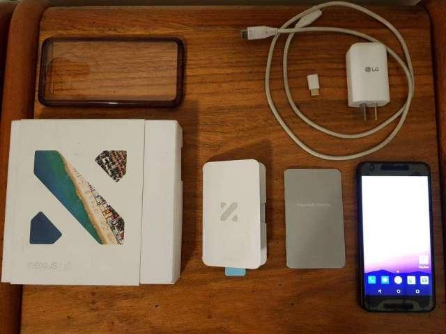 Google Lg Nexus 5x 16 Gb Liberado 4g Lte Funda Ringke