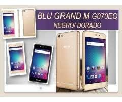 Blu Grand M. Flash Delantero Y Trasero.