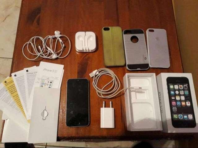 iPhone 5S Completo en Caja