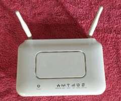 Modem Router Wi Fi Zte Zxhn H108n 3g Con Fuente