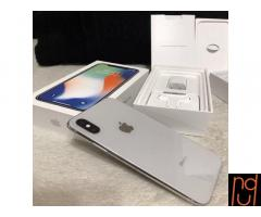 New Apple iPhone X 256GB WhatsApp: - +18064761711