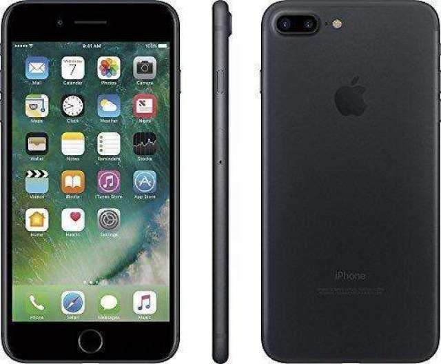 iPhone 7 Plus Negro Mate 128gb