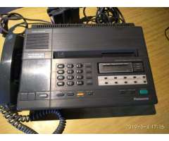 TELEFONO FAX CONTESTADOR PANASONIC KX F120