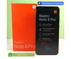 Xiaomi Redmi Note 6 Pro 64gb 4gb Camara Doble
