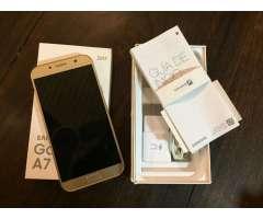 Vendo Samsung A7 2017 Impecable Nuevo