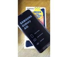Samsung Galaxy A10 Nuevo Libre