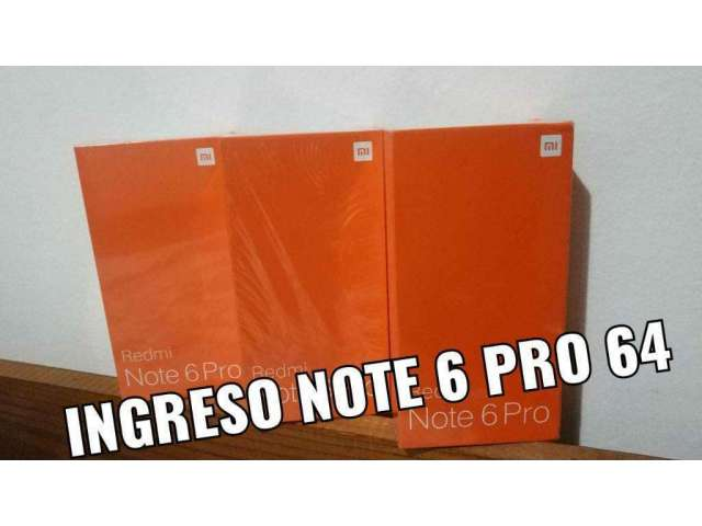 Xiaomi Note 6 Pro D 64gb,en Caja Sellada
