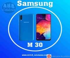 Samsung M30_ Nuevo con Garantía