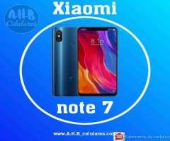 Xiaomi Note 7_ Nuevo con Garantía