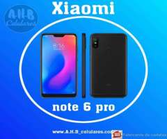 Xiaomi Note 6 Pro_ Nuevo con Garantía