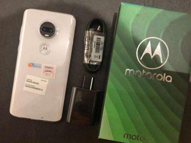 MOTOROLA MOTO G7 CERAMIC XT1962-4, 64GB, 4GB, 6,2, HUELLA, BOLETA