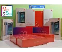 Xiaomi redmi note 7 Mi A2 Redmi 7 y varios mas LIbres Global Version