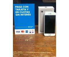 Vendo iPhone 7 Silver 32 Gb