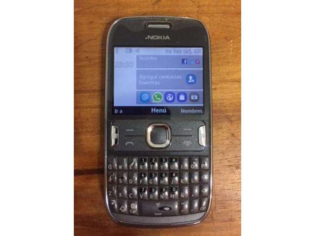 Celular Nokia Asha 302 Movistar Perfecto Estado