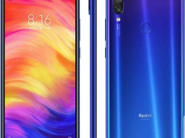 Xiaomi Redmi Note 7 Blue