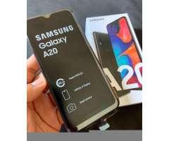 Samsung Galaxy A20 32Gb mas mem 32Gb Sd