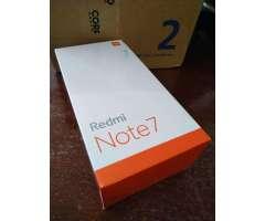 Xiaomi Redmi Note 7 64gb GLOBAL NUEVOS