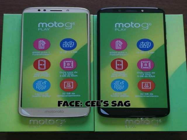 MOTO G6 PLAY NUEVOS 32GB. ACEPTO CELULAR Y EFECTIVO