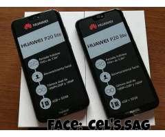 HUAWEI P20 LITE NUEVOS 32GB EN LIQUIDACION. ACEPTO CELULAR Y EFECTIVO