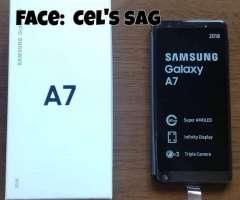 SAMSUNG A7 NUEVOS Y DE 128GB !! ACEPTO CELULAR Y EFECTIVO