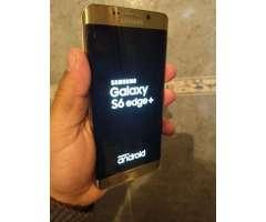Samsung S6 Edge Plus Dorado Impecable!!