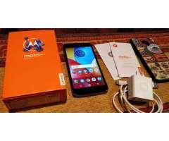 VENDO Motorola Moto E 4 PLUS - completo en caja - libre - 16 GB -