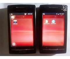 Vendo 2 Sony Xperia X8