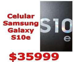 CELULAR SAMSUNG GALAXY S10e Nuevo Entrega Inmediata!!! doble Camara 128GB Techvana