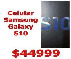 CELULAR SAMSUNG GALAXY S10 Nuevo Entrega Inmediata!!! Triple Camara 128GB Techvana