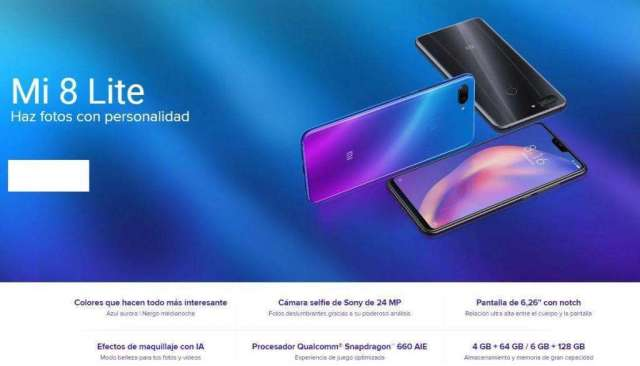 Xiaomi Mi 8 Lite 64gb Original Caja Sellada
