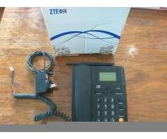 Teléfono Fijo con Chip Gsm Marca Zte