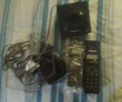 Telefono Panasonic con Sus Bases 1 Anda