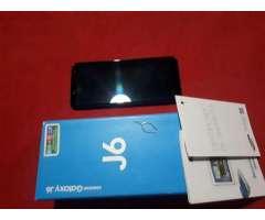 samsung J6 32gb libre en caja