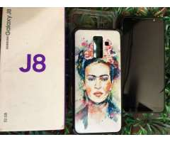 Samsung J8 Libre Impecable