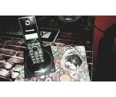 Vendo Telefono Panasonic 6.0 Inalambrico