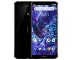 Celular Liberado Nokia 5.1 Plus Ss Negro 15pd