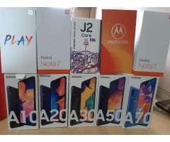 Vendo Samsung A30 A20 A10 Nuevo Liberado