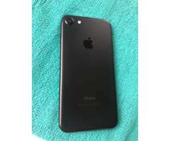 Vendo Urgente iPhone 7 Black Mate Nuevo