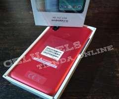 Vendo Xiaomi MI A2 Lite nuevo en caja disponible en color rojo